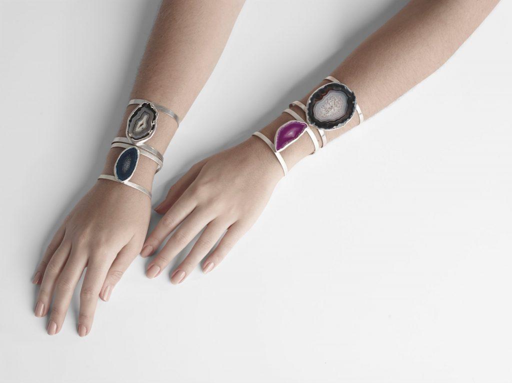 Mell: braceletes