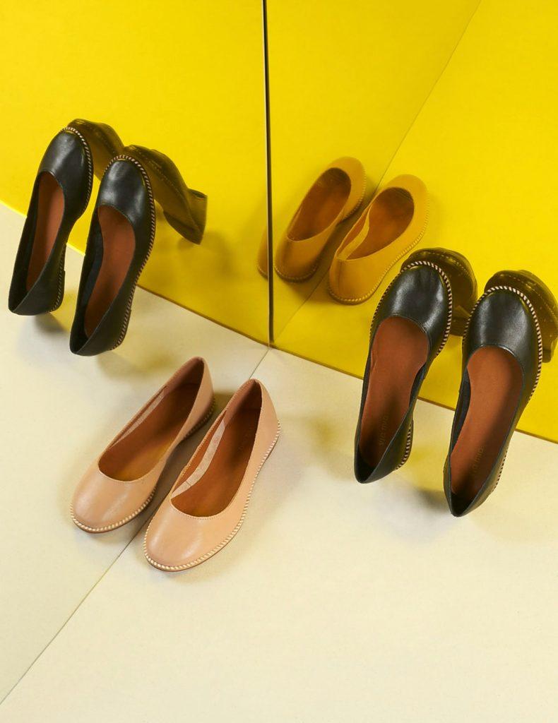 Via Mia: sapatilhas e espelhos